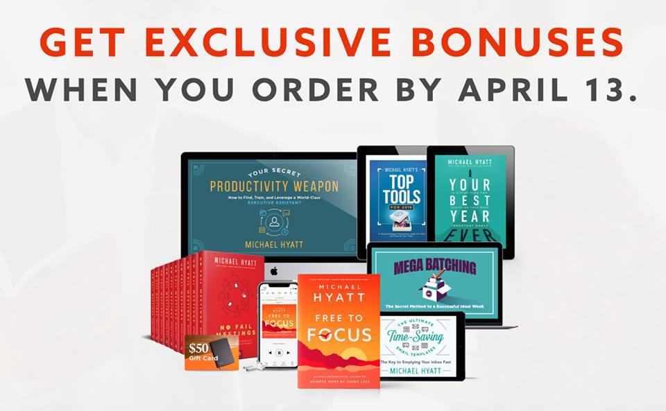 Free to Focus Bonuses